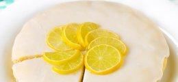 Bizcocho de limón sin huevos