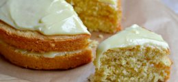 Receta bizcocho de limón con chocolate blanco