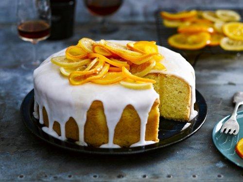 Bizcocho de limón y naranja